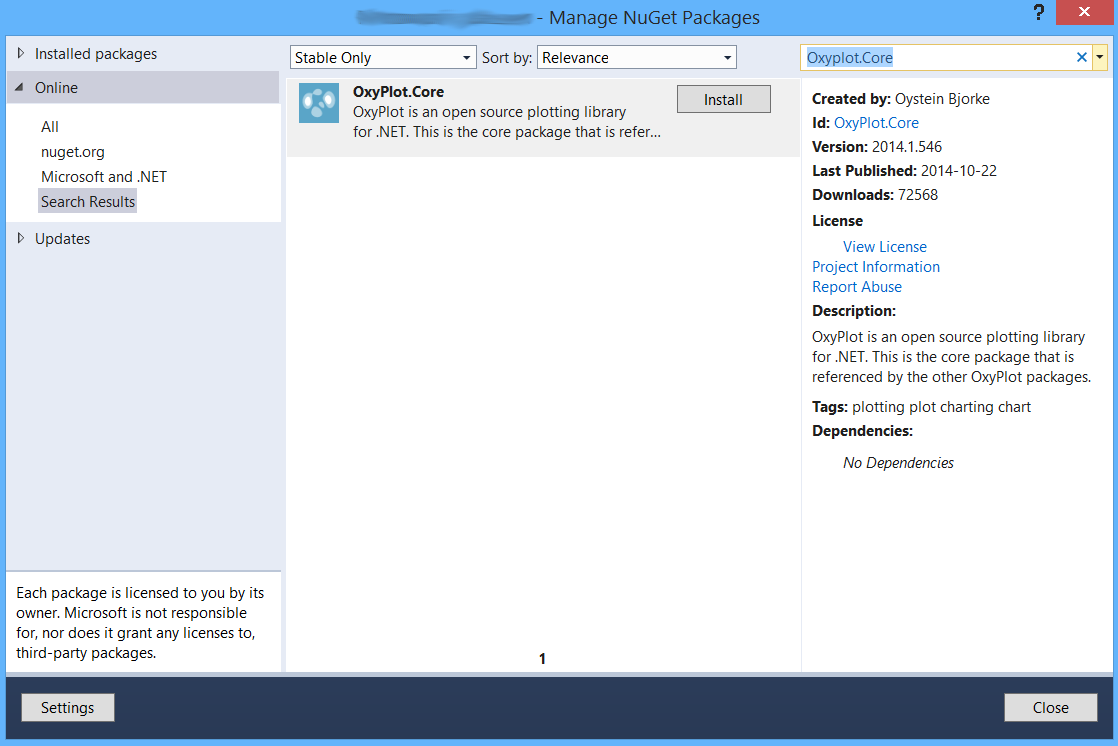 Charts in WPF C# - OxyPlot - Design perfect website