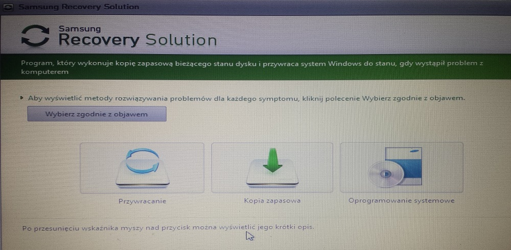 Réinstallation de Windows sur un ordinateur portable Samsung