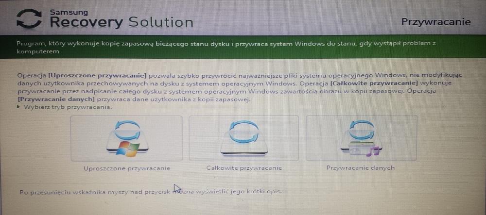 Neu Installieren von Windows auf einem Laptop Samsung