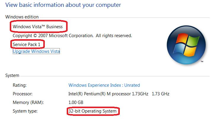 Windows - basic information