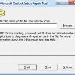 Jak naprawić folder poczty Outlook - scanpst.exe