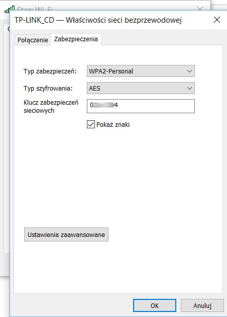 Jak odczytać zapisane w komputerze hasło do WiFi
