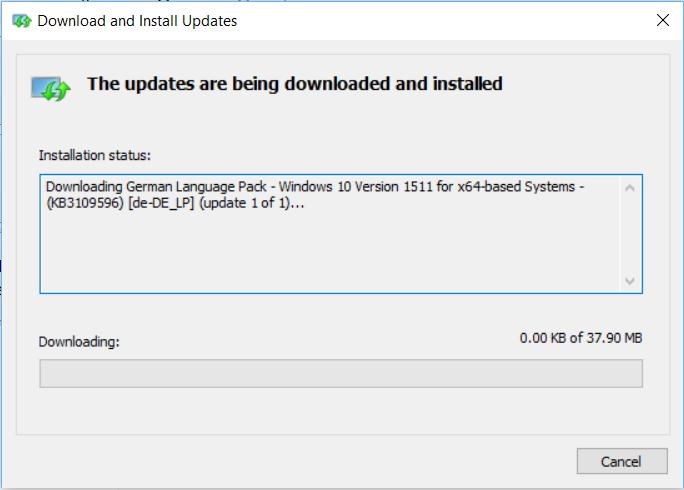 Windows 10 - zmiana języka systemu