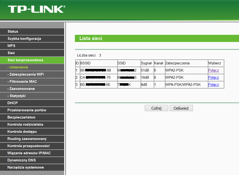 Router jako Repeater