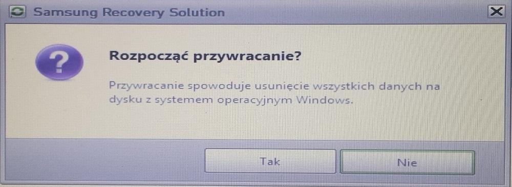 Reinstalacja Windows